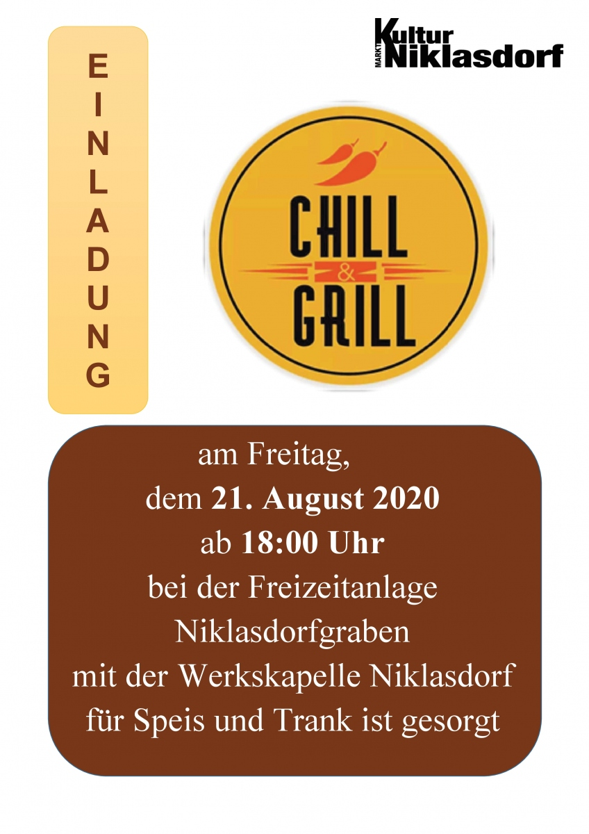 Chill and Grill